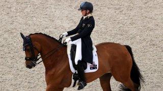 Australian equestrian Mary Hanna