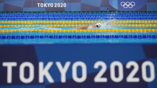 Katie Ledecky shined as the women's 1500m freestyle made its Olympic debut during Monday's prelims.