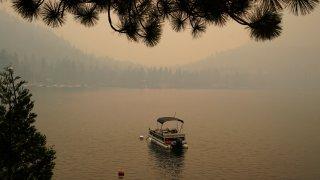 Caldor Fire Lake Tahoe Wildfire