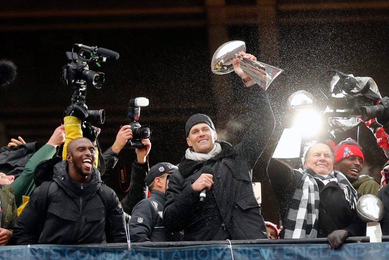 A Duck Boat Down Memory Lane: Photos of Tom Brady at Patriots Super Bowl Parades