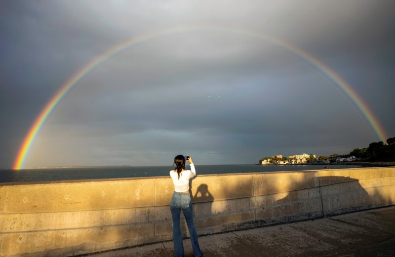 Beautiful Rainbow Appears in Mass. From Sharon to Fenway Park: PHOTOS