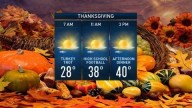 Thanksgiving Brings Sunshine and a Cool-Down