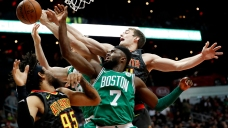 Boston Celtics Beat Atlanta Haws 110-99