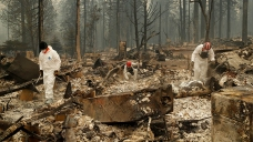 NorCal Wildfire Death Toll Now at 56; Missing Climb to 297
