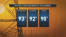 Boston Hits 3rd Recorded Heat Wave This Summer
