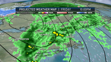 Approaching Warm Front to Bring Rain to Region