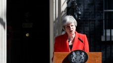 UK's May Says She'll Quit as Conservative Leader June 7