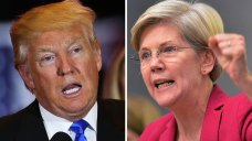 Trump Calls Warren 'Pocahontas' in NRA Speech