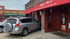 1 Injured When Vehicle Crashes Into Building in Boston