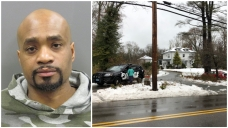 Police: Man Crashes Car During Snowstorm, Terrorizes Family