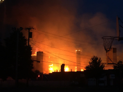 Massive Fire Engulfs Waltham Construction Site