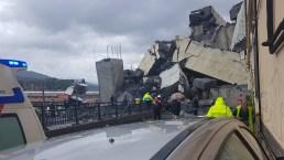 Bridge Collapses Over Italian City, Killing 22