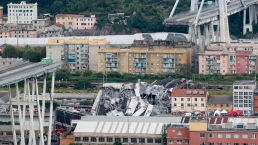 Highway Bridge Collapses in Italy, Killing at Least 25