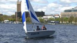 Anyone Can Learn to Sail on the Charles River