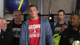 Gronk Fights for Boston Police Workout Spaces