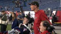 Falcons QB, BC Star Matt Ryan Chats With Pete Frates