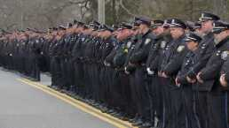 Thousands Attend Funeral for K9 Sgt. Sean Gannon
