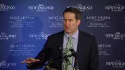 U.S. Rep. Seth Moulton Speaks at 'Politics & Eggs'