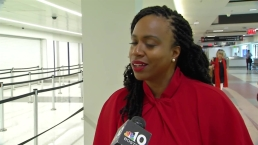 Ayanna Pressley Responds to Trump's Comments
