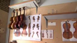 Boston Trade Students Learn to Make Violins