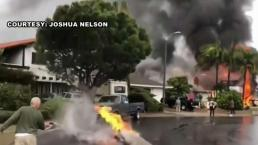 Neighborhood Grieves Lives Lost When Disintegrating Plane Crashed Onto House