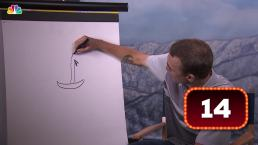 What Is Nick Goepper Drawing?