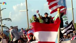 Music Artists Appear Together at San Juan Protests