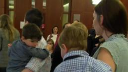 Children Formally Adopted for National Adoption Day