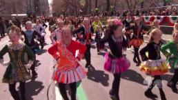 Little Irish Dancers Dazzle at St. Pat's Parade