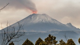 Ash Fills Sky After Volcano Erupts in Mexico