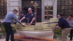 Opening Ceremony Held for 'Mayflower 400' Anniversary