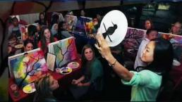 Paint Nite Serves as a Creative Holiday Gift