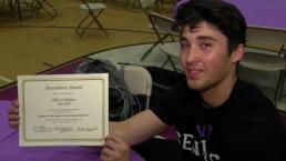 Perfect Attendance for Blackstone Valley Senior