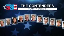 Previewing the 4th Democratic Debate