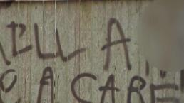 Racist Graffiti Discovered Outside Fairhaven Home