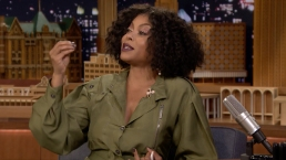 'Tonight': Taraji P. Henson Demonstrates Her Cardi B Impression