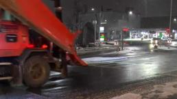Snow and Rain Falling Across Region Overnight