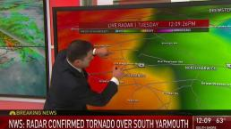 Tornado Touchdown Confirmed in Barnstable County