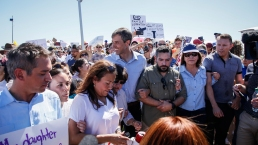 Hundreds Marched on New Tent City in Tornillo, Texas