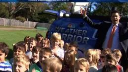 Weather Warrior Visits Buker Elementary School