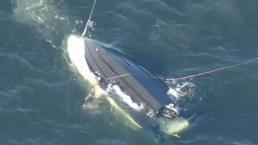 Young Child Still Hospitalized After Boat Overturns