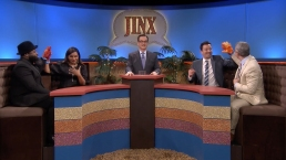 'Tonight': Jinx With Mindy Kaling and Andy Cohen