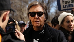 Paul McCartney Joins March For Our Lives in New York