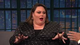 'Late Night': Chrissy Metz's Lunch With Oprah