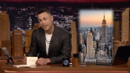 'Tonight': Giancarlo Stanton Writes a Thank You Note to NYC