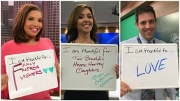 NBC10 Boston Staffers Tell Us What They're Thankful For