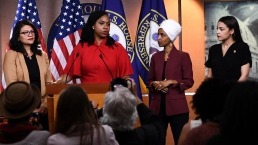 Congress Members Respond to Trump's 'You Can Leave' Remark