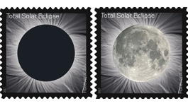 Touch New Solar Eclipse Stamp and, Bam, It Becomes Moon