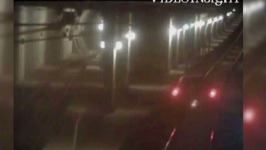 Video Shows Police Chase That Ended in LA Metro Train Tunnel