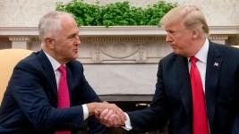 Trump Upbeat on Meeting With Australian PM
